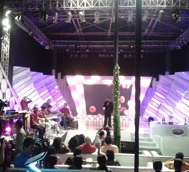 Corporate Stage Designing Services